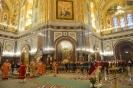 День памяти святой великомученицы Варвары, кафедральный соборный Храм Христа Спасителя - 17 декабря 2016 года